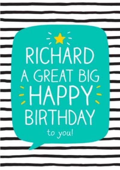 A Great Big Happy Birthday to you!