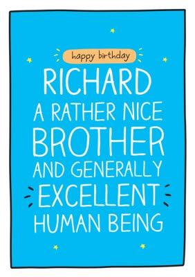 Brother Birthday Cards