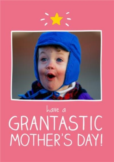 Mother's Day Card - Photo Upload - Granny