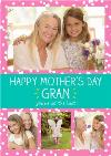 Mother's Day card -  You're so the best! - Photo upload