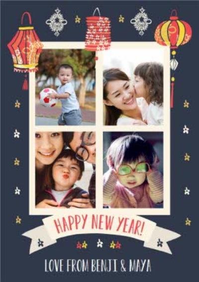 Photo Upload Chinese New Year Card