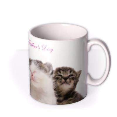 Mother's Day Kittens Personalised Mug
