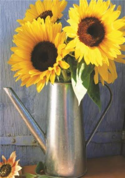 Mother's Day Card - Sunflowers
