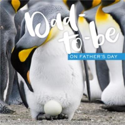 Penguin Dad-To-Be Fathers Day Card