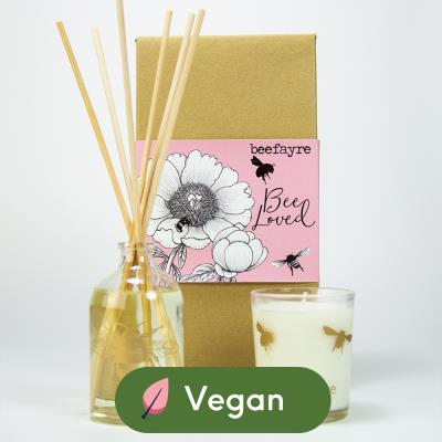 Beefayre 'Bee Loved' Home Fragrance Gift Set