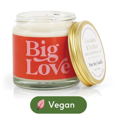 Aery 'Big Love' Coconut & Lychee Candle