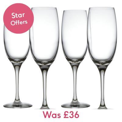 Alessi Mami XI Champagne Glasses Set of 4