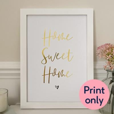 Lily Rose Co. 'Home Sweet Home' Foil Print