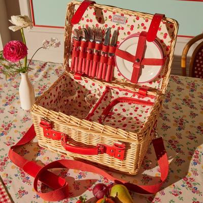 Cath Kidston Cherry Picnic Basket