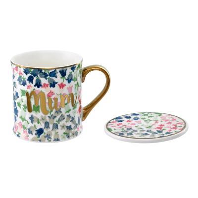 Cath Kidston Bone China Mug and Coaster Set