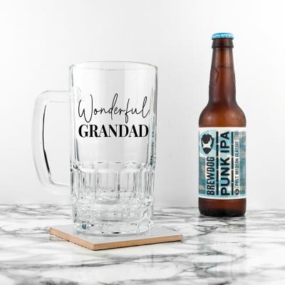 Wonderful Grandad Beer Tankard