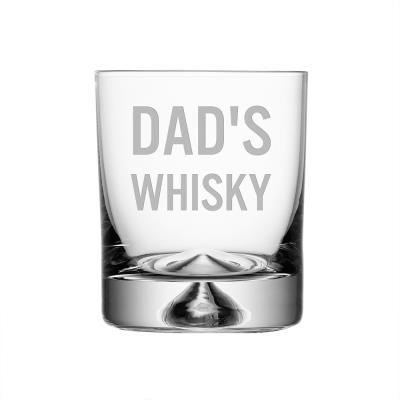Dad's Whisky Glass Tumbler