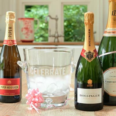 Celebrate Engraved Champagne Bucket