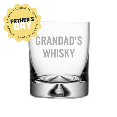 Grandad's Whisky Glass Tumbler