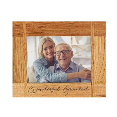 Wonderful Grandad Engraved Photo Frame
