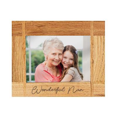 Wonderful Nan Engraved Photo Frame