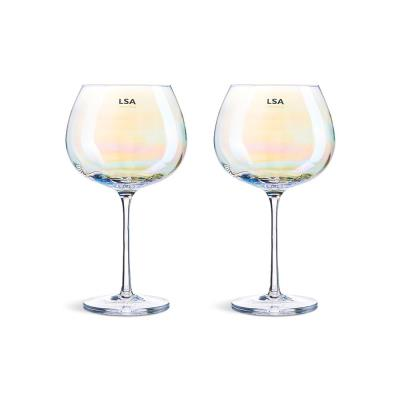 LSA Two Piece Pearl Goblet Gift Set
