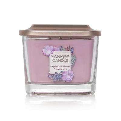 Sugared Wildflower Elevation Yankee Candle