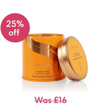Sanctuary Spa Signature Scented Candle