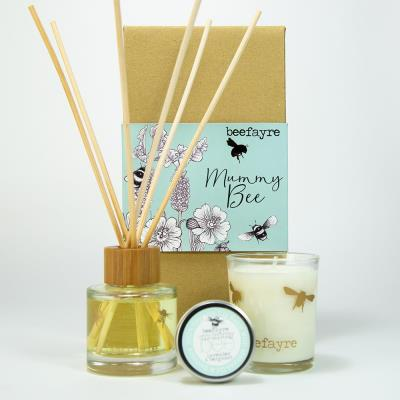 Beefayre Mummy Bee Home Fragrance Gift Set