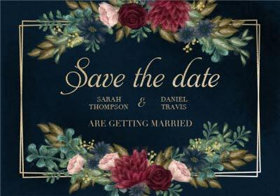 Hope Blossoms Wedding Save The Date