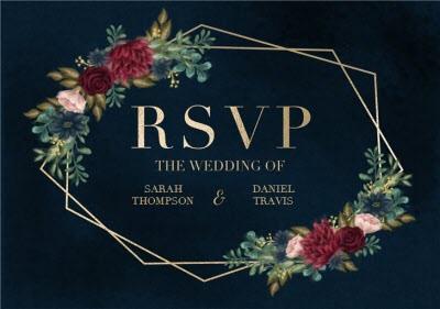 Hope Blossoms Wedding RSVP