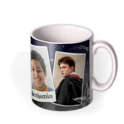 Harry Potter Hogwarts Photo Upload Mug