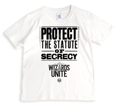 Harry Potter Wizards Unite Protect The Statue Of Secrecy T-Shirt