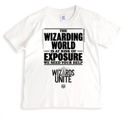 Harry Potter Wizards Unite Risk Of Exposure T-Shirt