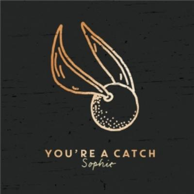 Harry Potter Golden Snitch You're A Catch Valentines Day Card