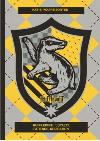 Harry Potter sorting hat card - Hufflepuff