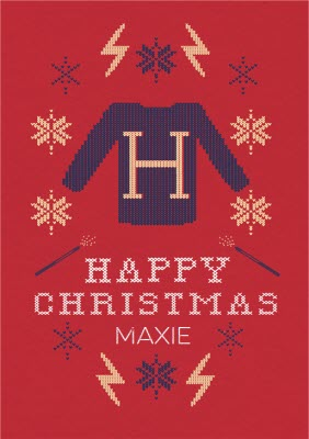 Harry Potter Christmas Wallpaper Hd.Harry Potter Christmas Cards Personalised Harry Potter