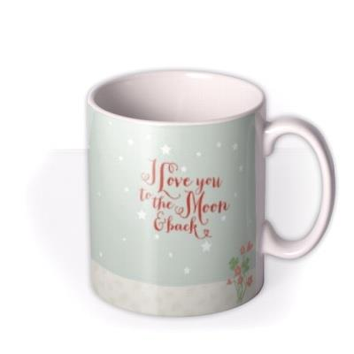 Valentine's Day Foxes Personalised Mug