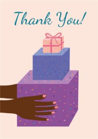 Huetribe Gift Thank You Card