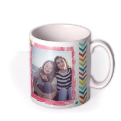 Happy Birthday 16th Multicoloured Photo Upload Mug