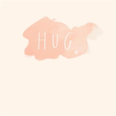 A Simple Hug Greetings Card