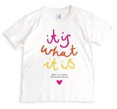 Love Island It Is What It Is Birthday T-Shirt