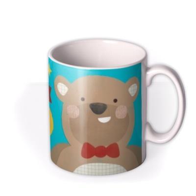 Totally Awesome Dad Big Bear Personalised Mug