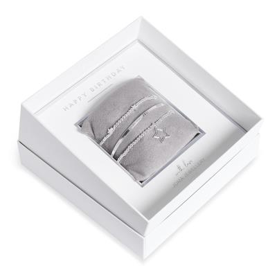 Joma Jewellery Happy Birthday Bracelets