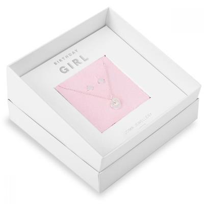 'Birthday Girl' Necklace & Earrings Jewellery Gift Box