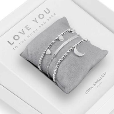 Love You To the Moon & Back Jewellery Gift Box