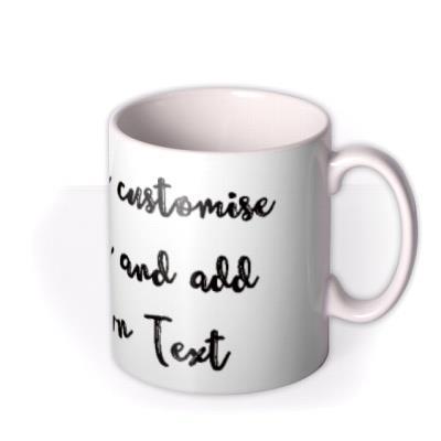 Typewriter Personalised Mug