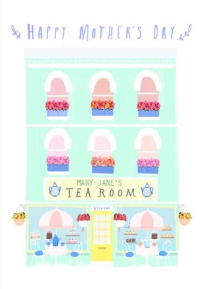 Tea Room Happy Mothers Day Card
