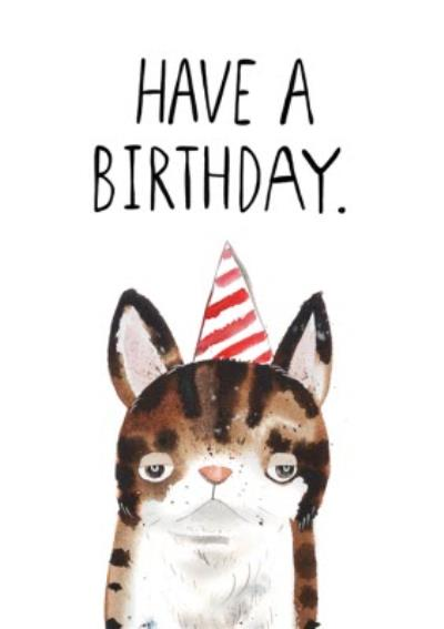 Jolly Awesome Have A Birthday Funny Birthday Card