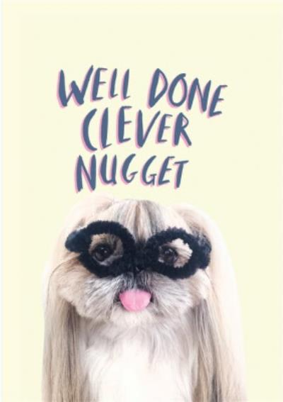 Jolly Awesome Well Done Clever Nugget Card