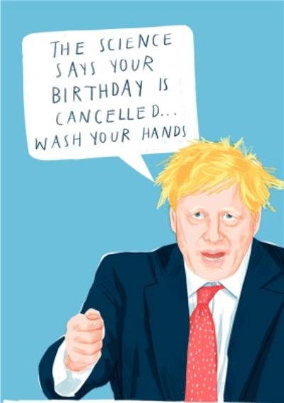 The Science Says Your Birthday Is Cancelled Covid Card