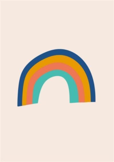 Just To Say Rainbow Community Postcard