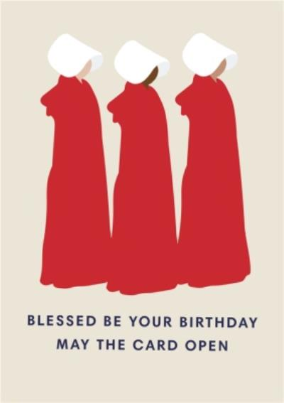 TV Show Blessed Be Your Birthday Card