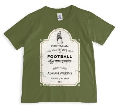 Institute of Football Personalised T-shirt