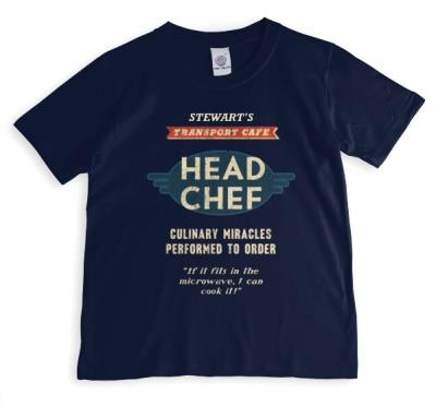 Head Chef Personalised T-shirt